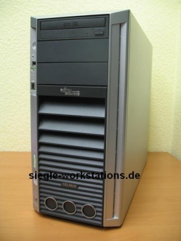 FSC Celsius M450 Workstation: C2D E6420 @ 2,13 GHz/4 GB RAM/DVDRW/80GB HDD/Nvidia Quadro 550 Grafikkarte
