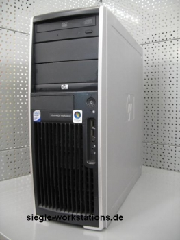 HP xw4400 Workstation # Core 2 Duo E6400/4 GB RAM/DVDRW/160 GB SATA HDD/128 MB Nvidia Quadro FX 1400 Grafikkarte