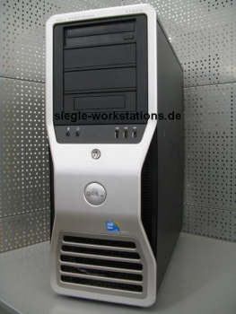 Dell Precision T7500 Workstation # 2x Xeon L5640 Hexa Core/16 GB RAM/120 GB SSD + 1 TB SATA HDD/DVDRW/Nvidia GeForce 8800 GTX Grafikkarte