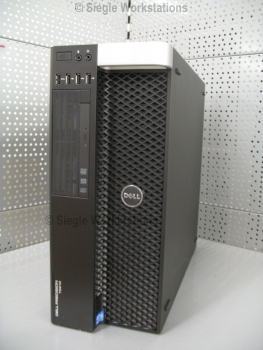 Dell Precision T5610 Workstation # 2x Xeon E5-2680v2 10-Core CPUs/32 GB RAM/500 GB SSD/DVDRW/Nvidia Quadro K2000 Grafikkarte