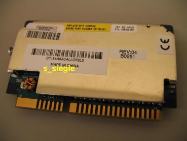 VRM HP / Compaq spare 231783-001 P/N 229402-001 HP/Compaq Proliant ML530 G2 serve