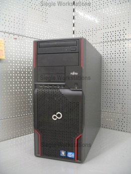 Fujitsu Celsius W510 Workstation # Intel Xeon E3-1225 QC @ 3,1 GHz/8 GB RAM/500 GB HDD/DVDROM/Intel HD Grafik P3000
