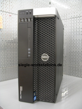 Dell Precision T3610 Workstation # Xeon E5-1650v2 Hexa Core  3,5 GHz/32 GB RAM/DVDROM/480 GB SSD/Nvidia Quadro K2000 Grafikkarte