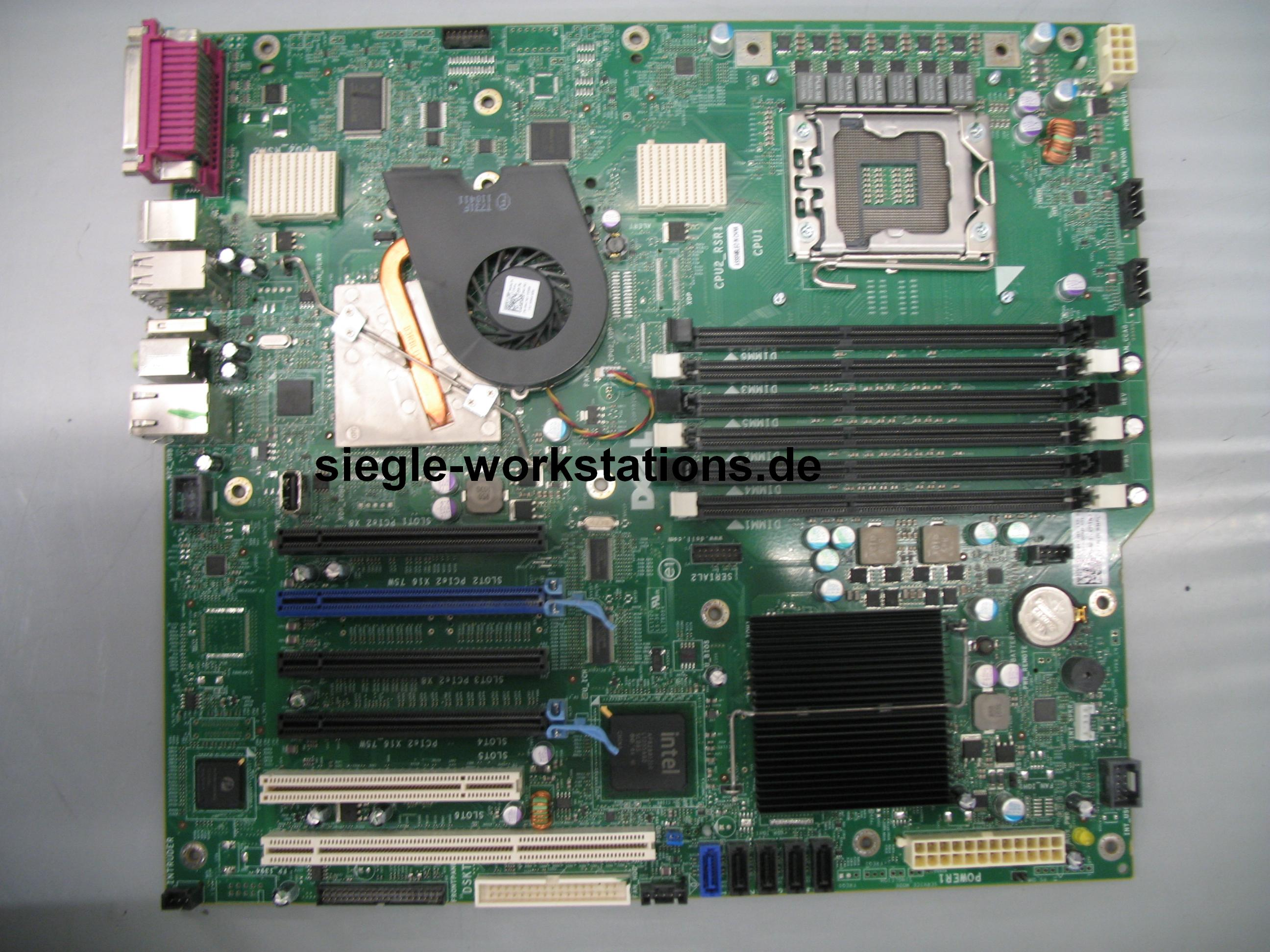 siegle server cad workstations mainboard dell p n 0crh6c f r precision t5500 workstation. Black Bedroom Furniture Sets. Home Design Ideas